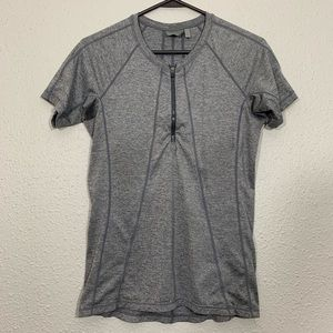 Athleta Pacifica UPF Heather Short-sleeve Tee